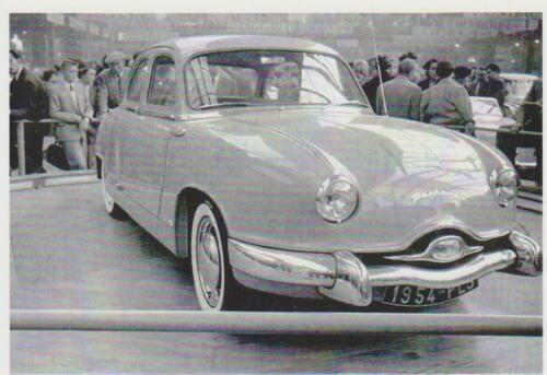 carte postale PANHARD DYNA Z DE 1953-10x15cm