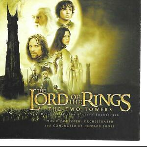 Howard-Shore-The-Lord-Of-The-Rings-The-Two-Towers-Soundtrack-US-CD-USA
