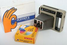 Kodak Pleaser II Kodamatic Camera with film and box, instant photo polaroid
