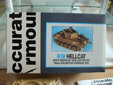 Model Resin Kit Accurate Armour K19 Hellcat WW-II Tank Destroyer on 1:35 in Box