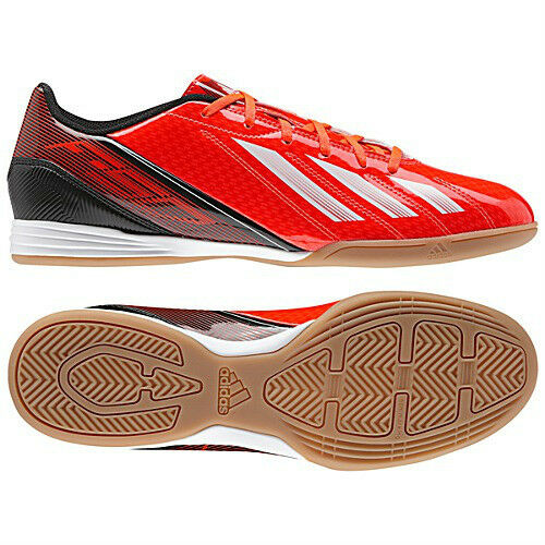 Adidas F10 TRX IN Indoor  2013 Soccer Shoes Red / Nero / White Brand New