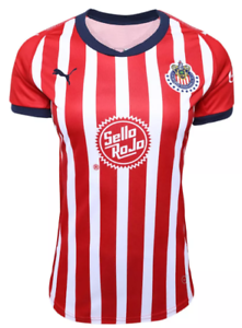 cheap for discount 308f7 95221 Details about Chivas women Puma jersey authentic 18-19 S M L XL 2XL  Guadalajara liga MX