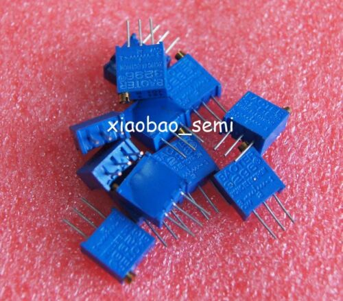 50pcs 3296W-103 3296 W 10K Ohm Trim Pot Trimmer Potentiometer