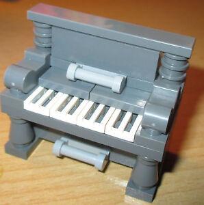 LEGO FRIENDS FIGURINE Accessoires - 1x élégant du piano dans Neuf Foncé Gris  </span>