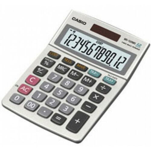 Casio MS120MS Desk Calculator with Tax Calculations