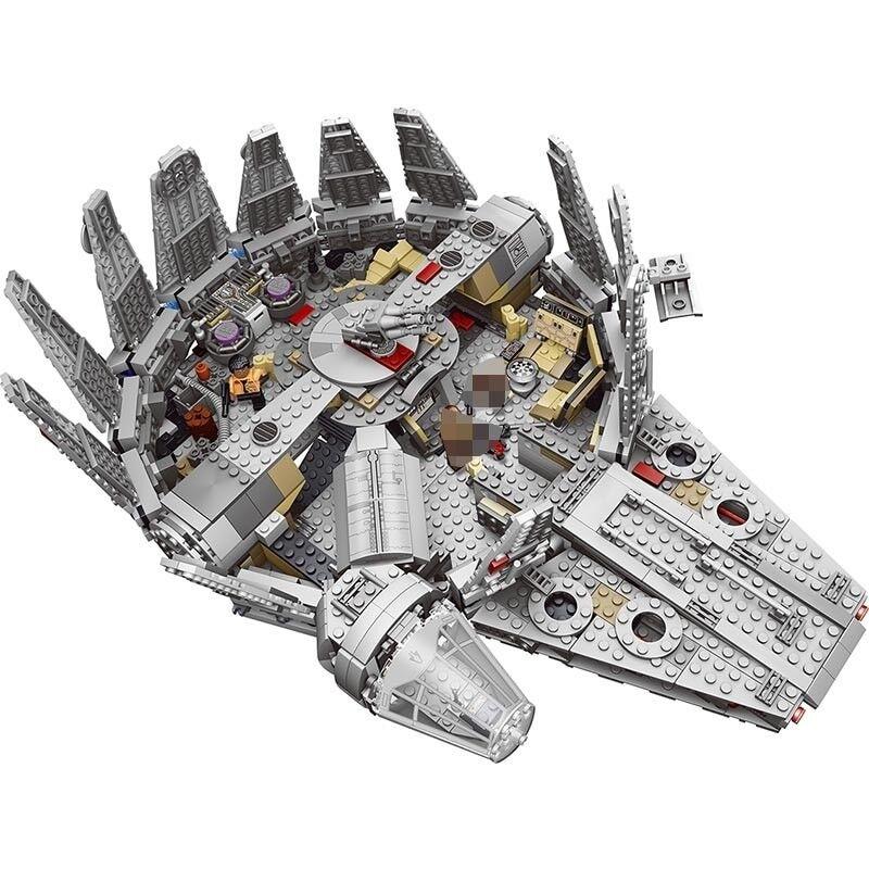 Force Awakens Star Set Wars Series Compatible Lego Millennium Falcon SPAIN SHIP