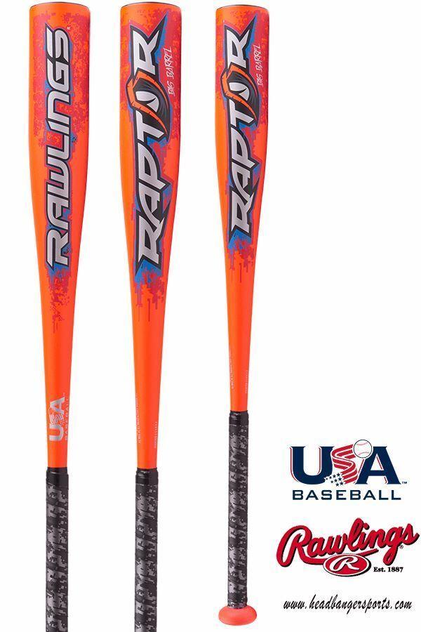 2018 Rawlings Raptor (-8) USA Baseball Bat: Bat: Baseball US8R8 44b0a2