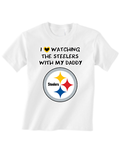 Pittsburgh-Steelers-Tshirt-Toddler-T-Shirt-Love-Watching-With-Daddy