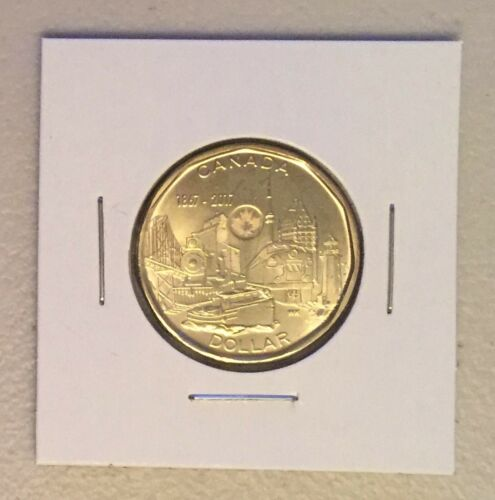 CANADA 2017 New Loonie 150th Our Achievements CONNECTING A NATION BU From roll