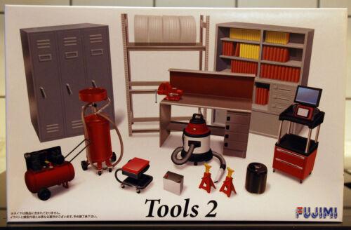 1:24 Fujimi 11371 Kompressor Garage /& Tools Tools 2 Werkzeug Werkbank