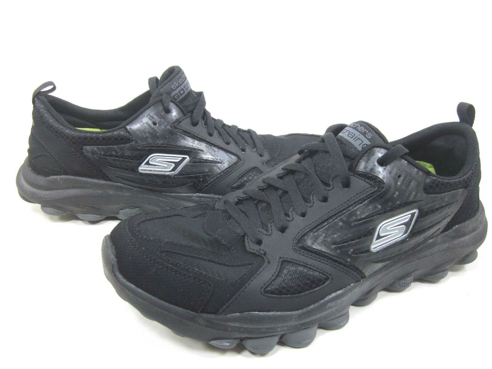 SKECHERS PERFORMANCE MENS GO TRAIN RUNNING SHOES,53503/BBK,BLACK,US SIZE 11 M The latest discount shoes for men and women