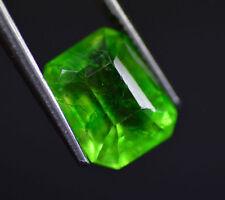 Excellent 5.70 Ct Natural Emerald Shape EGL Certified Green Emerald Gemstone~