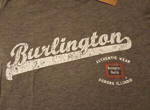 Ringaboy-Ladies-T-Shirt-Burlington-Route-New-With-Tags-Size-L