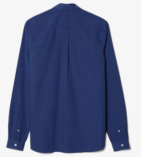 Fred perry homme tipped dobby poitrine chemise à manches longues-M7289-143 bleu marine