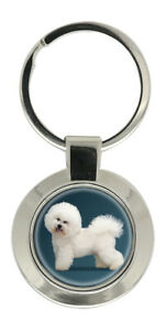 Bichon-Frise-Key-Ring