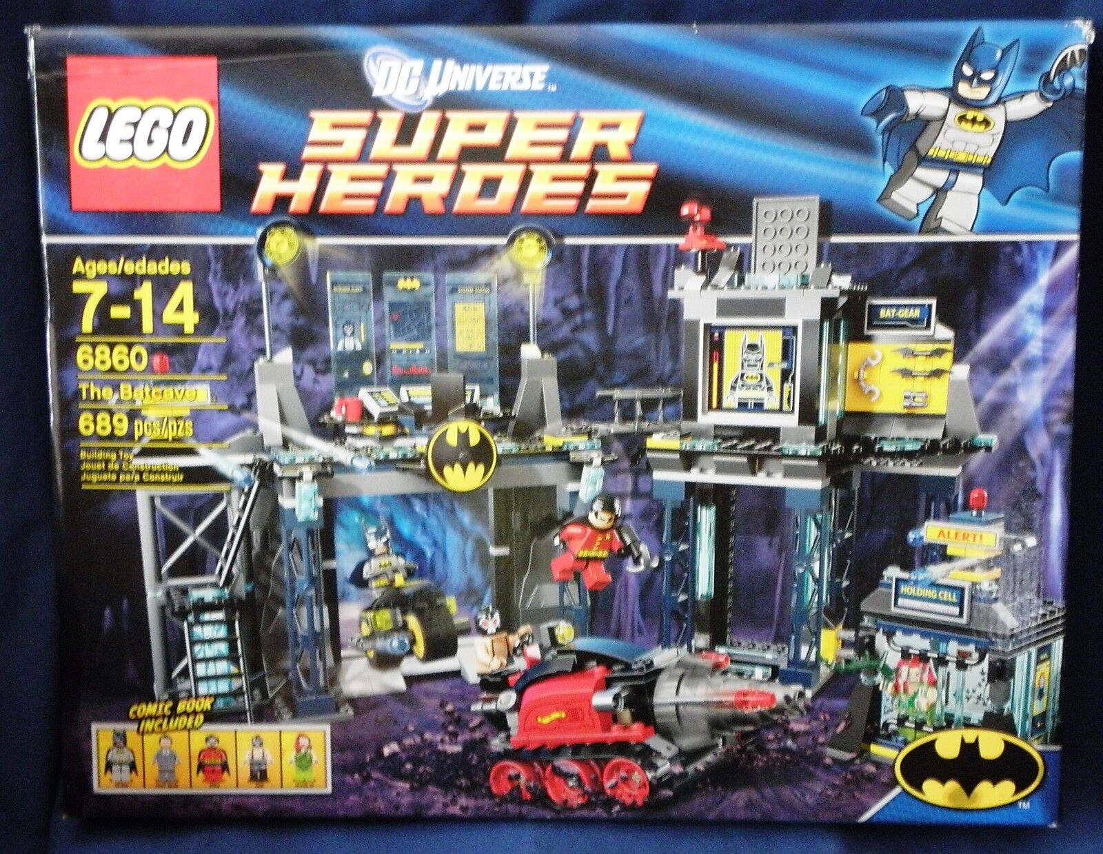 Lego DC Universe Super Heroes The Bat cave new in box