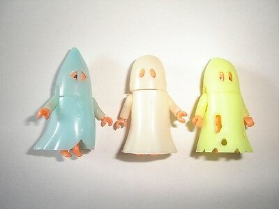 HALLOWEEN GLOWING GHOSTS 1993 TOYS KINDER SURPRISE FIGURES SET COLLECTIBLES