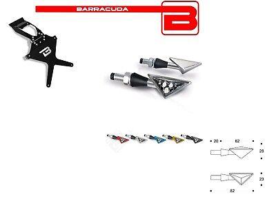 Barracuda Portatarga + 2 Frecce Z-led Per Suzuki Gsx R 600 2004 2005 Aspetto Estetico