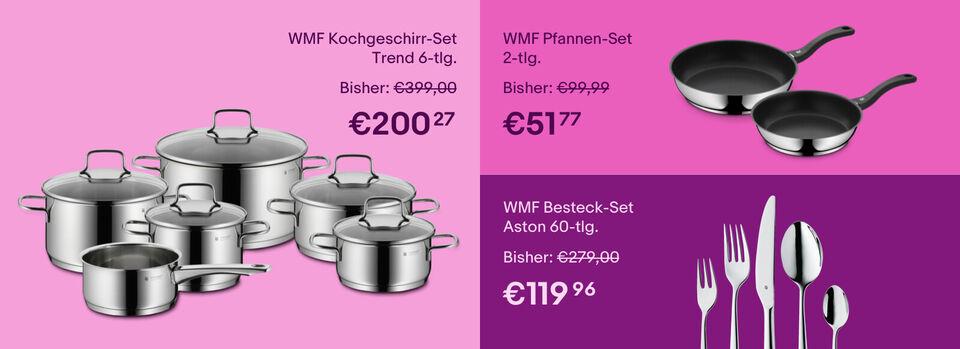 -20% auf Kochgenuss mit WMF – Zum Gutschein - -20%* auf Kochgenuss mit WMF