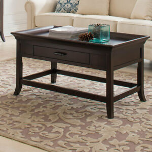 Admirable Details About Charlton Home Clermont Tray Edge Coffee Table With Tray Top Gmtry Best Dining Table And Chair Ideas Images Gmtryco