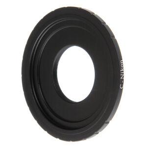 C Mount Lens to Nikon AI F  Camera Adapter  For D800 D750 D3300 D7000 D7100 DSLR 614993416382