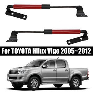 1-Pair-O-Bonnet-Gas-Struts-Lit-Support-For-TOYOTA-Hilux-Vigo-2005-2012