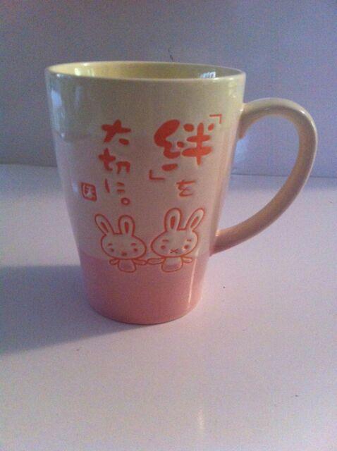 BUNNY RABITS Hello Kitty & Friends Mug - JAPAN