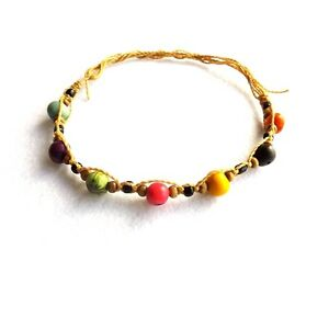 Jewelry & Watches Fashion Jewelry Multicoloured Beaded Anklet