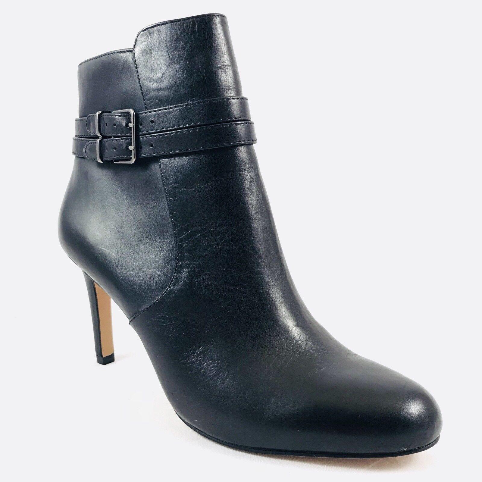 marche online vendita a basso costo Vince Camuto Colins nero Leather Leather Leather Ankle avvioies donna Dimensione 8.5 NIB  alla moda