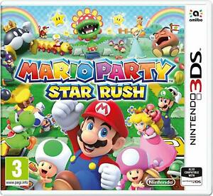 Mario-PARTY-STAR-RUSH-NINTENDO-3DS-amp-2DS-nuovo-e-sigillato-Gratis-UK