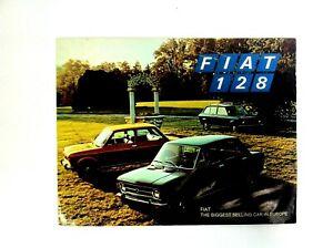 FIAT 128 Brochure Roosevelt Motors Orginal - #(F-29)