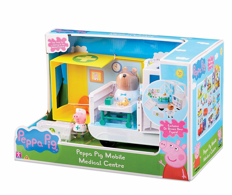 Peppa Pig Centro Mobile Medical Ambulanza