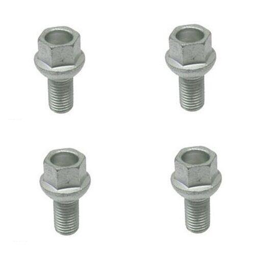 For Mercedes R107 W108 W110 FEBI Set of 4 Wheel Lug Bolt 12x21x1.5 mm 0009904507
