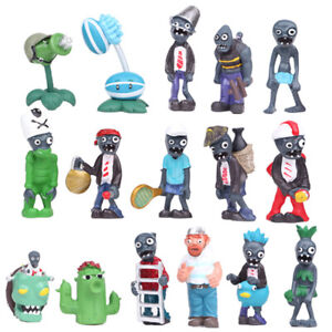 16PCS Plants vs Zombies Series Game Plastic Role Small Action Figures Kids Toy