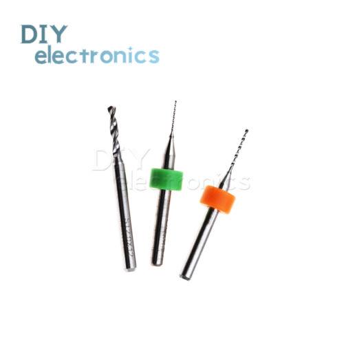0.5//0.8//2.0mm Steel Mikro PCB Hartmetall Drill Bit Gedruckt Circuit Board US