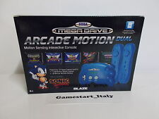 CONSOLE SEGA MEGA DRIVE ARCADE MOTION DUAL - INCLUSI 37 GIOCHI NEW ROMs Games