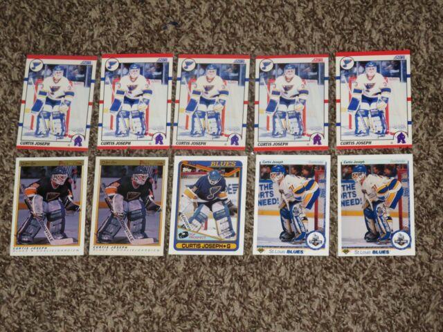 Curtis Joseph 10 RC Card Bundle 1990 OPC Premier Score Topps Rookie Lot 1990-91