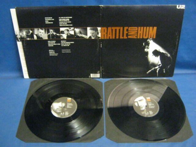 RECORD ALBUM U2 RATTLE & HUMT-REX FLYBACK 5729