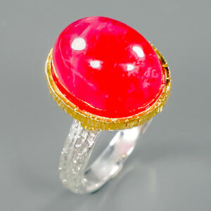 Very-Sweet-GEM-Natural-Ruby-925-Sterling-Silver-Ring-Size-7-R88209