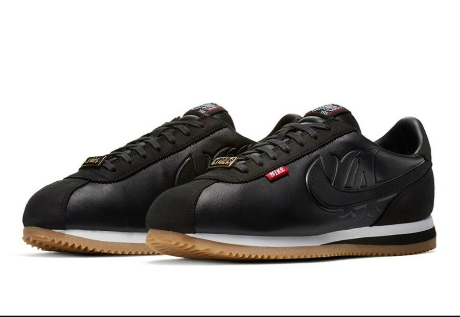Nike Cortez Basic MC QS Señor señor Cartoon salvaje la Negro aa4875-001 casual salvaje Cartoon 3be2ac
