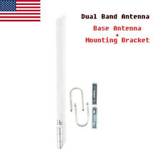 6dBd UHF BASE ANTENNA MOUNT NOT INCLUDED N FEMALE 824-896 MHz FIBERGLASS