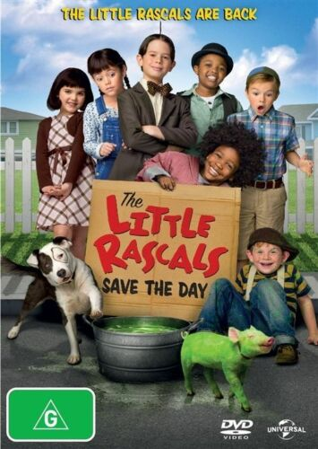 1 of 1 - Little Rascals Save The Day (DVD, 2014)