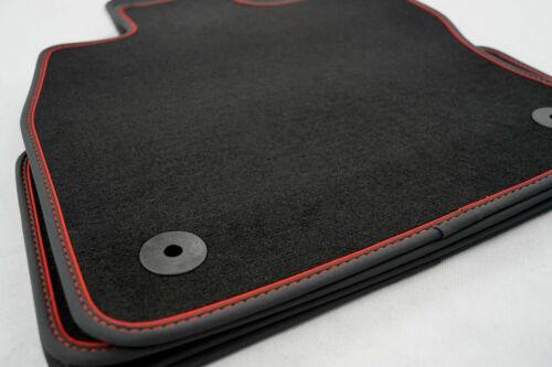 mit Verlängerung 03.07-04.12 Original Qualität Velours Smart fortwo 451 2-tlg