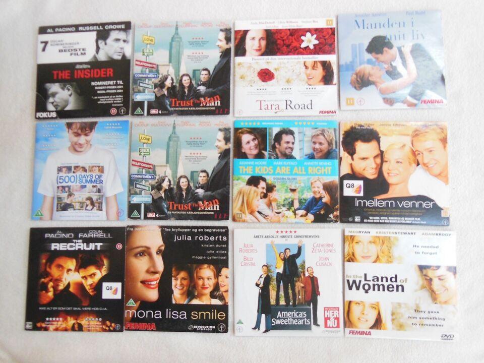 Amerikanske og engelske film, instruktør Forskellige,