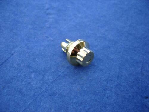 Zierstopfen 8mm exterior 12 cantos 14mm cabeza dorado oro zierschraube caña nuevo!
