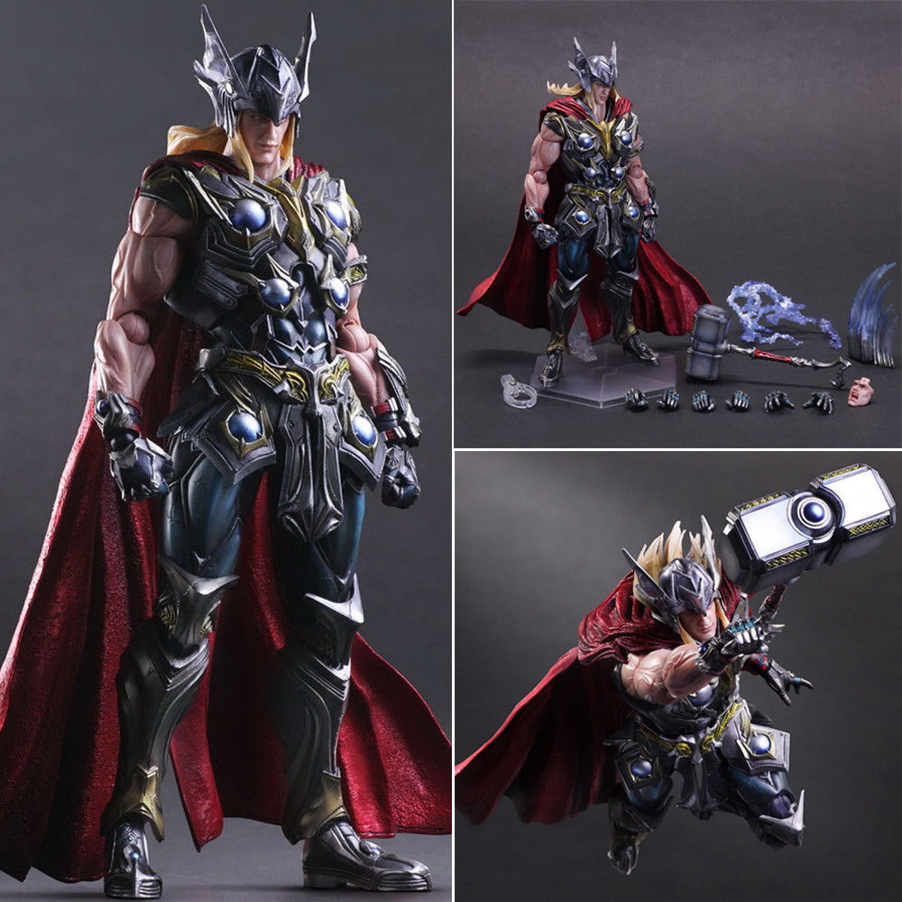 Marvel Universe Variant Play Arts Kai Thor Hero PVC Collection Action Toy