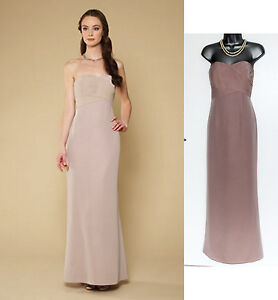 MONSOON-Nude-Becca-Bridal-Dress-Pleated-Integral-Bodice-UK-12-EU-40-rrp-179