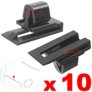 MINI-FRONT-GRILLE-TRIM-CLIPS-SURROUND-R56-Cooper-S-D-One-R58-Coupe