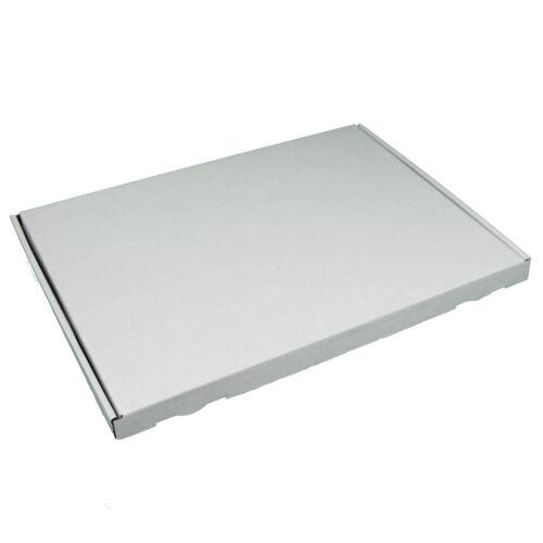 350x250x20mm Faltkartons 200x Weiss 200 Stück Großbrief Kartons WEIẞ DIN A4