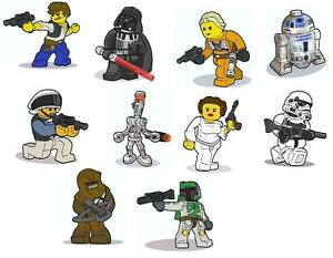 Image Is Loading 10 Lego Star Wars VINYL WALL STICKERS 3